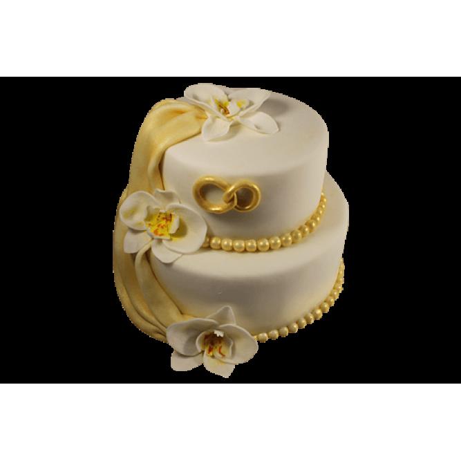 Торт свадебный Вуаль №545