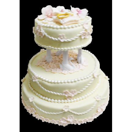 Торт свадебный Вельвет №302