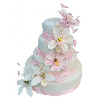 Торт свадебный Венский вальс №300