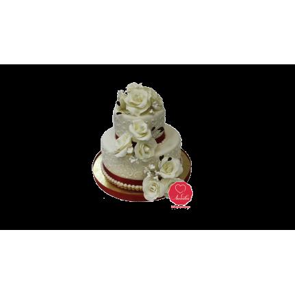 Торт Свадебные розы №1032