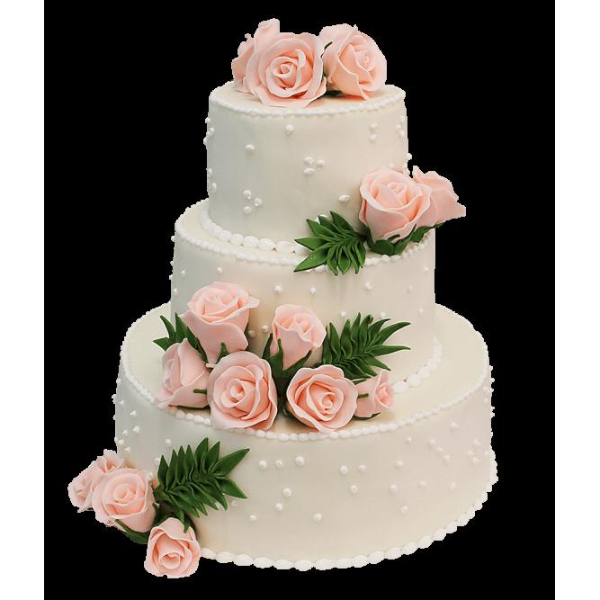 Торт свадебный вальс №398
