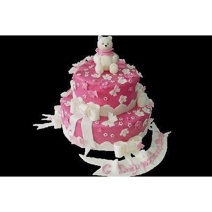 Торт Белый мишка №293