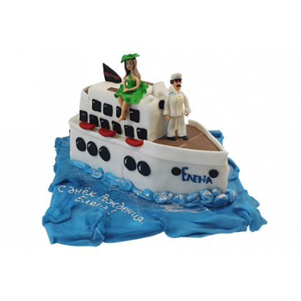 Торт Белый пароход №443