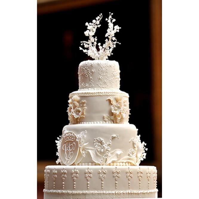 Торт свадебный Белое дерево №715