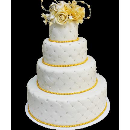 Торт свадебный Зимняя сказка №331