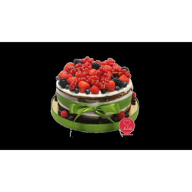 Торт с ягодами №691