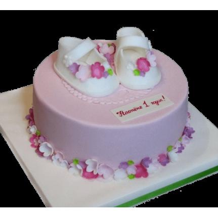 Торт с пинетками №817