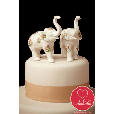 Торт со слонами №720