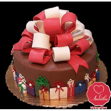 Торт с подарками №791