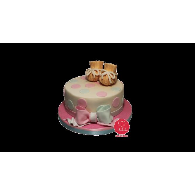 Торт с башмачками №1061