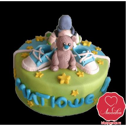 Торт с кедами для мальчика №823