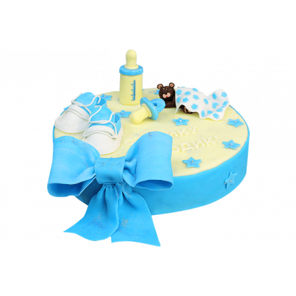 Торт для мальчика на 1 годик №150