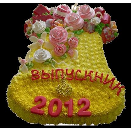 Торт Желтый колокольчик №576