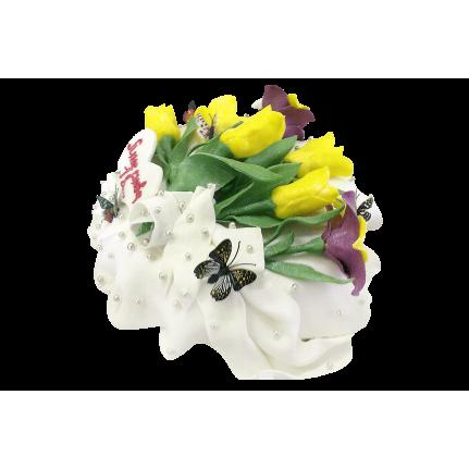 Торт Желтые тюльпаны №324