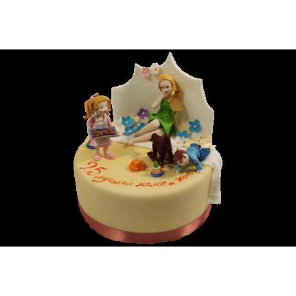 Торт Молодая семья №554