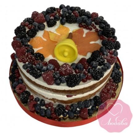 Торт праздничный на 1 сентября №2629