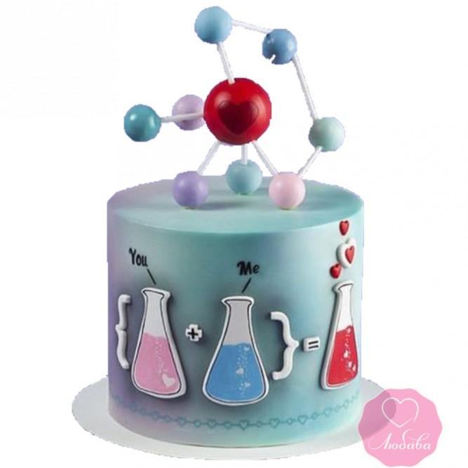 Торт праздничный химия любви №2667