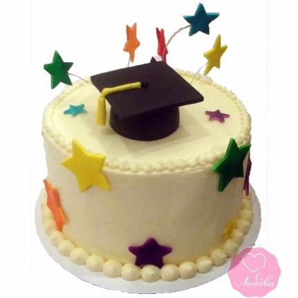 Торт праздничный для студента №2672
