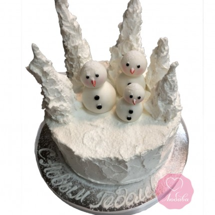 Торт праздничный С Новым Годом №2769