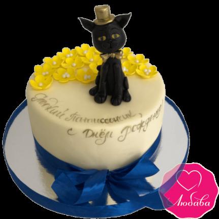 Торт детский с котом №2157