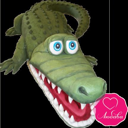 Торт детский крокодил №2165