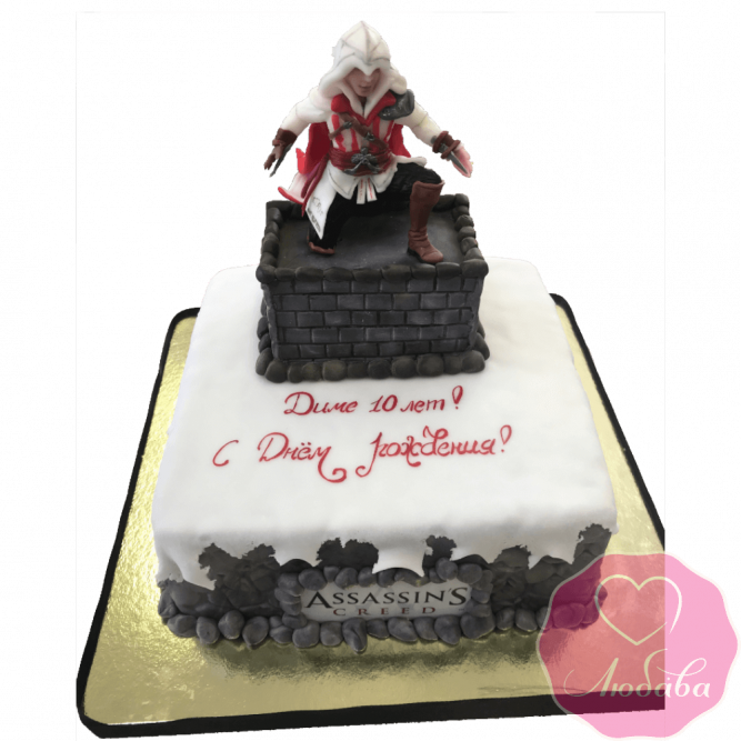 Торт детский Assassin's Creed №2185