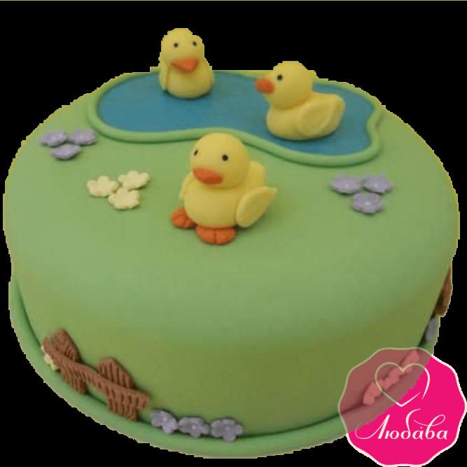 Торт детский утята №2187