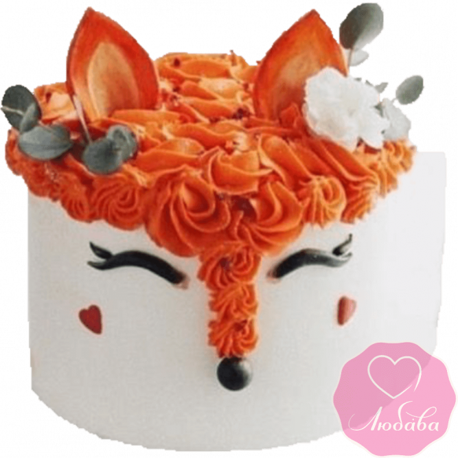 Торт детский лиса №2194