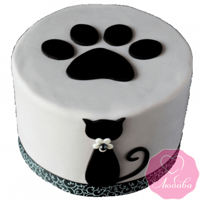 Торт детский кот №2197