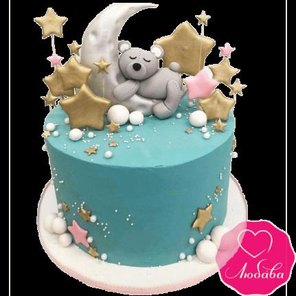 Торт детский с мишкой №2252