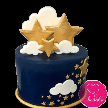Торт детский звездное небо №2274