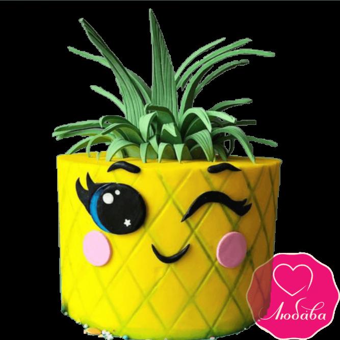 Торт детский ананас №2287