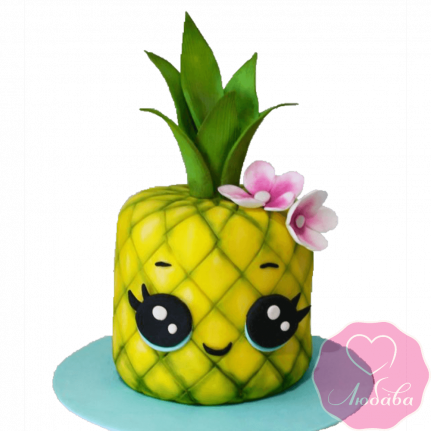 Торт детский ананас №2288