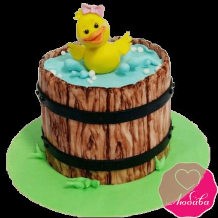 Торт детский с утенком №2305