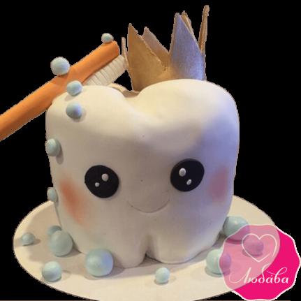 Торт детский на первый зубик №2318