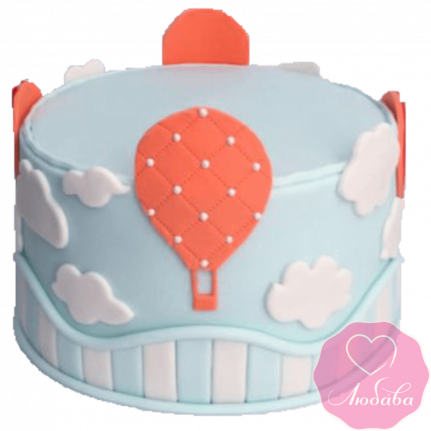 Торт детский воздушные шары №2323