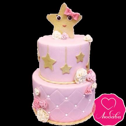 Торт детский со звездами №2324
