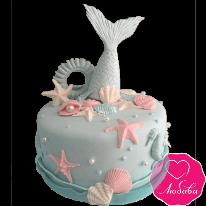 Торт детский море №2326