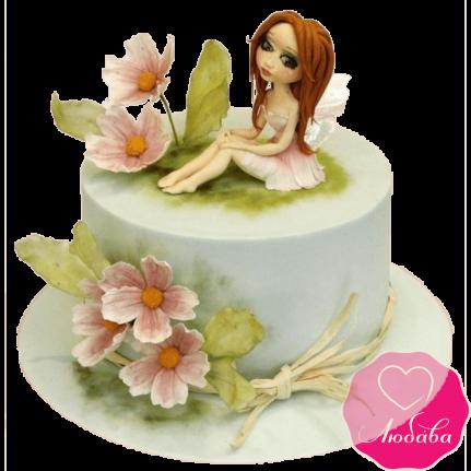 Торт детский с феей №2347