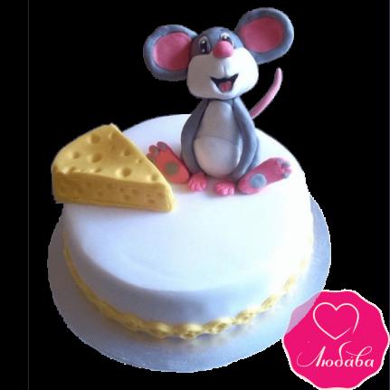 Торт детский с мышкой №2396