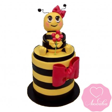 Торт детский пчелка №2411