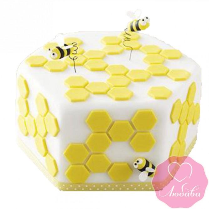Торт детский пчелки №2412