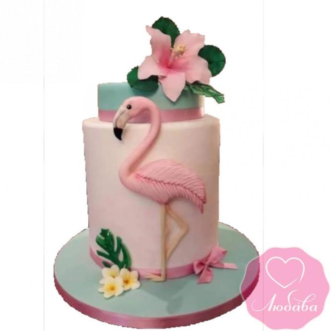 Торт детский фламинго №2413