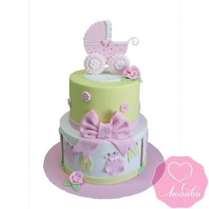 Торт детский на рождение ребенка №2460