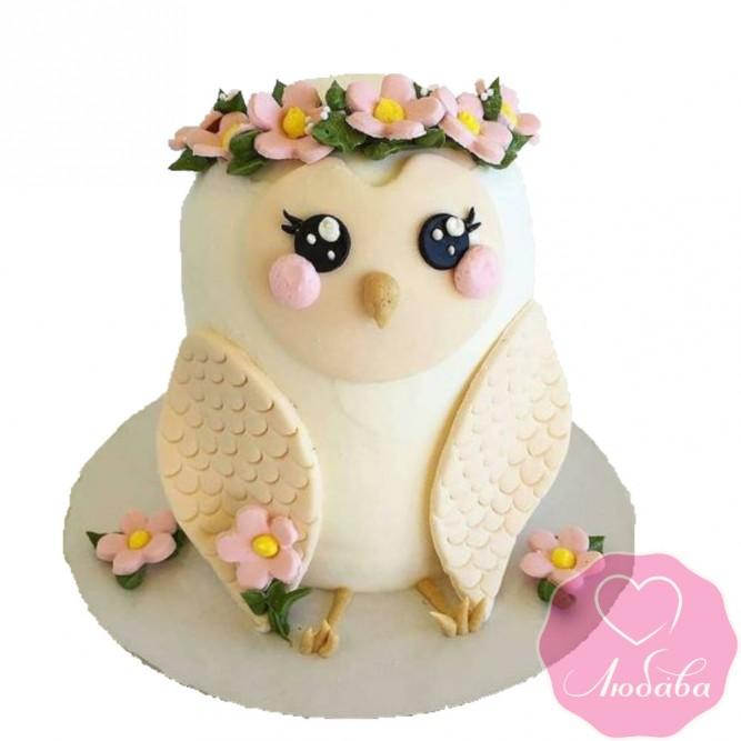 Торт детский сова №2462