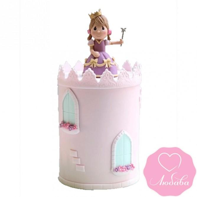 Торт детский с принцессой №2479