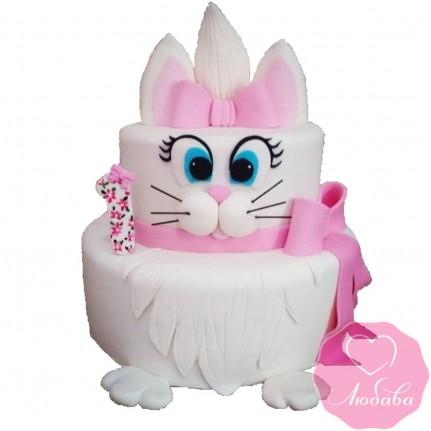 Торт детский зайка №2497