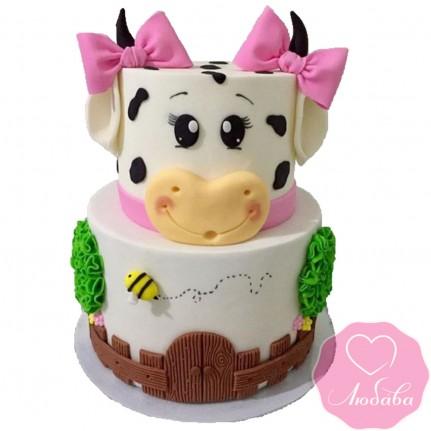 Торт детский девочке №2498