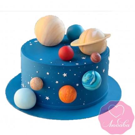 Торт детский планеты №2548