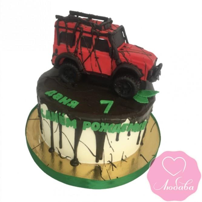 Торт детский джип №2550